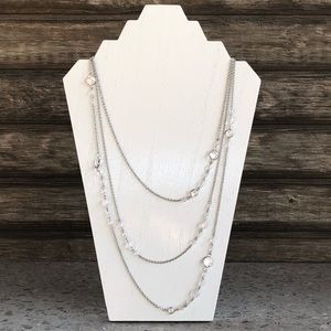 Jewelry - 3 Row Necklace - Worn Once